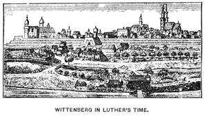 Wittenburg in Luther's Time